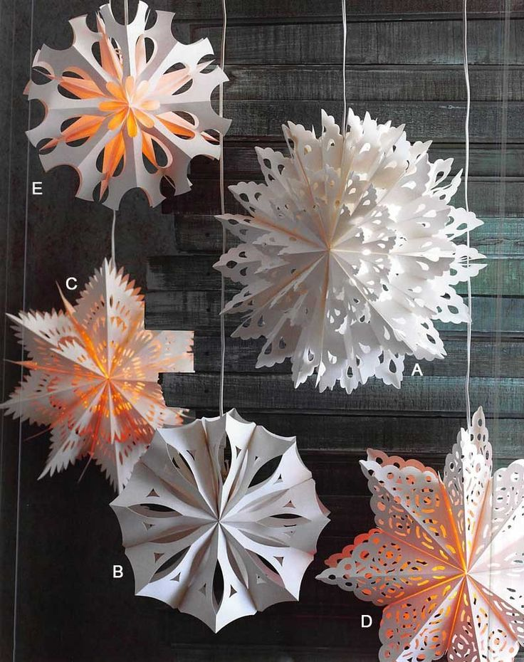 Diy Snowflakes 8 - Coolest DIY Snowflakes You Can Make Easily