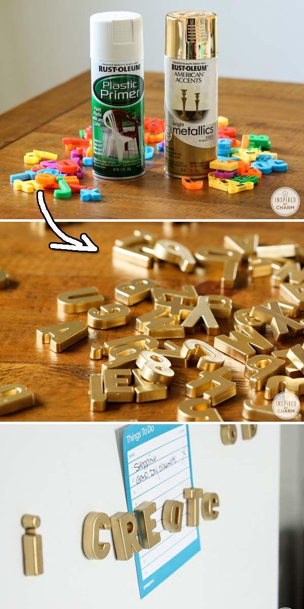 Diy Spray Paint Ideas 31 - 38+ Beautiful DIY Spray Paint Ideas