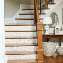 Diy Stairs Projects 1 214x214 - 40+ DIY Stair Projects For The Perfect Home Makeover