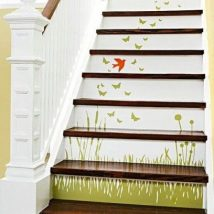 Diy Stairs Projects 2 214x214 - 40+ DIY Stair Projects For The Perfect Home Makeover