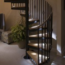 Diy Stairs Projects 21 214x214 - 40+ DIY Stair Projects For The Perfect Home Makeover