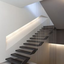Diy Stairs Projects 27 214x214 - 40+ DIY Stair Projects For The Perfect Home Makeover