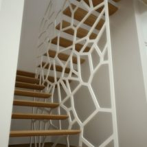 Diy Stairs Projects 34 214x214 - 40+ DIY Stair Projects For The Perfect Home Makeover