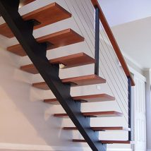 Diy Stairs Projects 41 214x214 - 40+ DIY Stair Projects For The Perfect Home Makeover