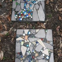 Diy Stepping Stones 12 214x214 - DIY Stepping Stones to make your House Stunning