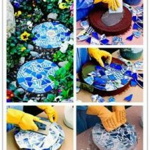 Diy Stepping Stones 24 214x214 - DIY Stepping Stones to make your House Stunning