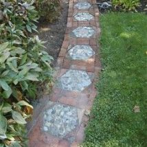 Diy Stepping Stones 28 214x214 - DIY Stepping Stones to make your House Stunning