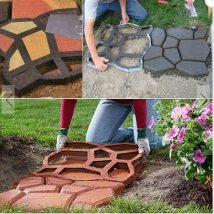 Diy Stepping Stones 30 214x214 - DIY Stepping Stones to make your House Stunning
