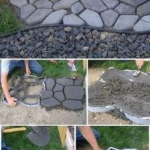 Diy Stepping Stones 31 214x214 - DIY Stepping Stones to make your House Stunning