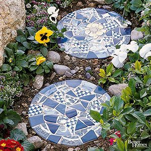 Diy Stepping Stones 36 - DIY Stepping Stones To Make Your House Stunning