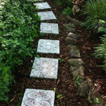Diy Stepping Stones 37 214x214 - DIY Stepping Stones to make your House Stunning