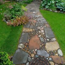 Diy Stepping Stones 38 214x214 - DIY Stepping Stones to make your House Stunning