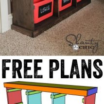 Diy Storage Bins 16 214x214 - Coolest DIY Storage Bins