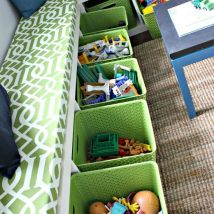 Diy Storage Bins 18 214x214 - Coolest DIY Storage Bins