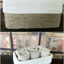 Diy Storage Bins 2 214x214 - Coolest DIY Storage Bins