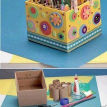 Diy Storage Bins 32 214x214 - Coolest DIY Storage Bins