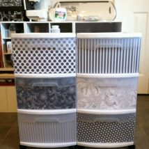 Diy Storage Bins 42 214x214 - Coolest DIY Storage Bins