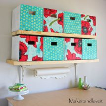 Diy Storage Bins 43 214x214 - Coolest DIY Storage Bins