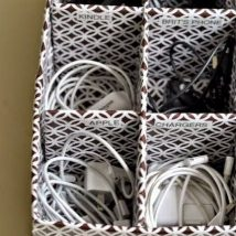 Diy Storage Bins 44 214x214 - Coolest DIY Storage Bins