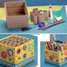Diy Storage Bins 45 214x214 - Coolest DIY Storage Bins