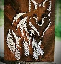 Diy String Art Animals 1 207x214 - Creative DIY String Art Animals for Everyone