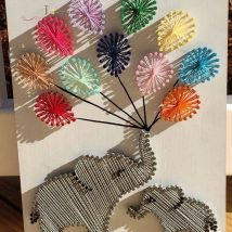 Diy String Art Animals 11 214x214 - Creative DIY String Art Animals for Everyone