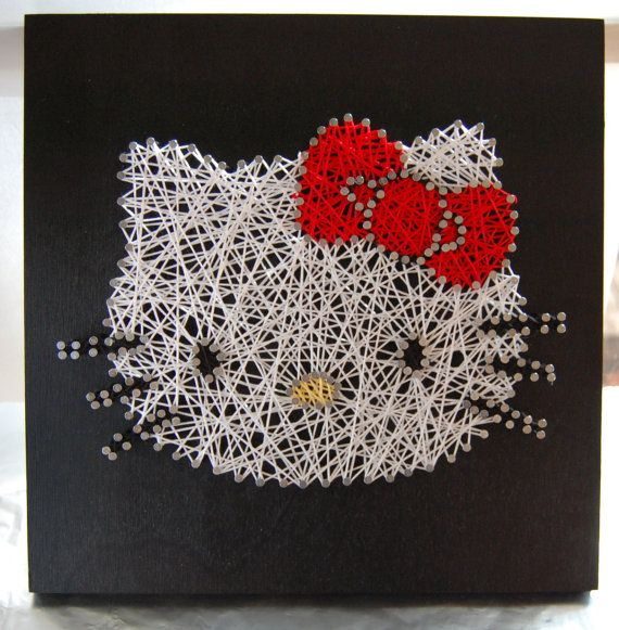 Diy String Art Animals 18 - Creative DIY String Art Animals For Everyone