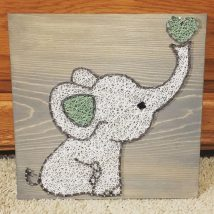 Diy String Art Animals 23 214x214 - Creative DIY String Art Animals for Everyone