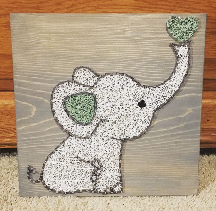 Diy String Art Animals 23 - Creative DIY String Art Animals For Everyone