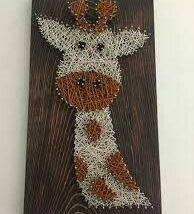 Diy String Art Animals 3 194x214 - Creative DIY String Art Animals for Everyone