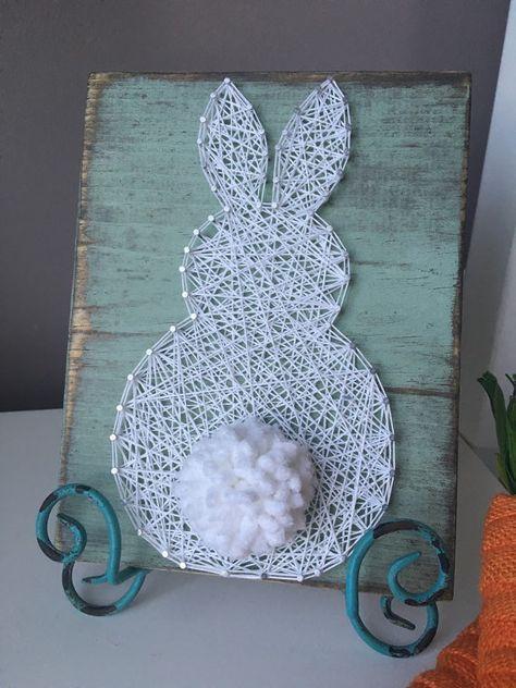 Diy String Art Animals 33 - Creative DIY String Art Animals For Everyone