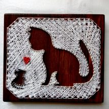 Diy String Art Animals 4 214x214 - Creative DIY String Art Animals for Everyone