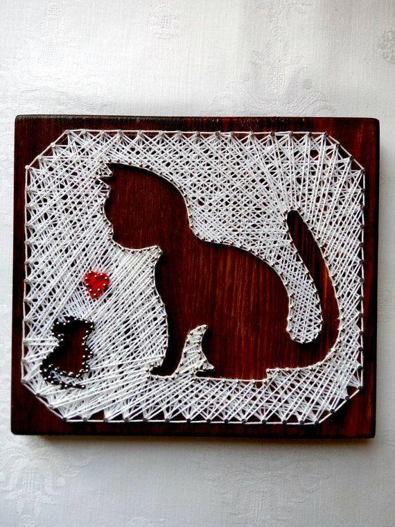 Diy String Art Animals 4 - Creative DIY String Art Animals For Everyone
