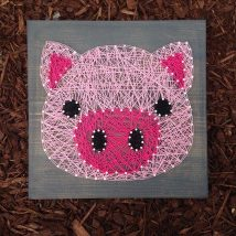 Diy String Art Animals 43 214x214 - Creative DIY String Art Animals for Everyone