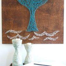 Diy String Art Animals 44 214x214 - Creative DIY String Art Animals for Everyone