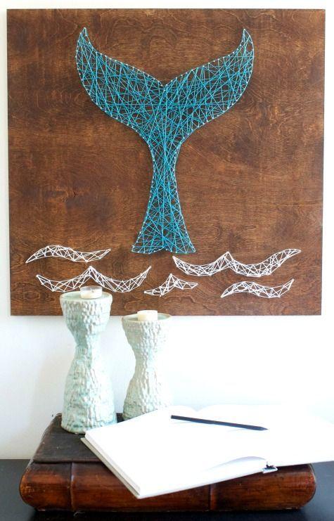 Diy String Art Animals 44 - Creative DIY String Art Animals For Everyone