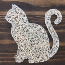 Diy String Art Animals 7 214x214 - Creative DIY String Art Animals for Everyone