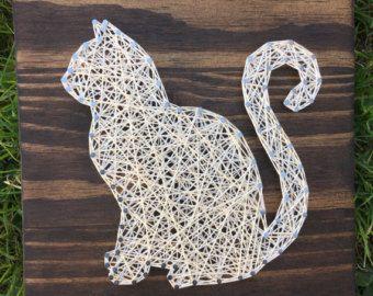Diy String Art Animals 7 - Creative DIY String Art Animals For Everyone