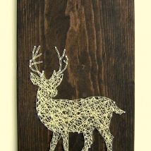 Diy String Art Animals 9 214x214 - Creative DIY String Art Animals for Everyone