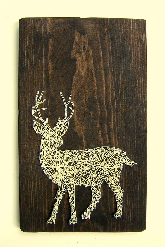 Diy String Art Animals 9 - Creative DIY String Art Animals For Everyone