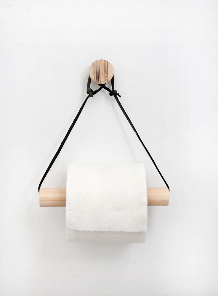 Diy Toilet Paper Holder 1 - 40+ Creative & Easy DIY Toilet Paper Holders