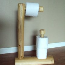 Diy Toilet Paper Holder 11 214x214 - 40+ Creative & Easy DIY Toilet Paper Holders