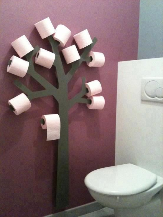 Diy Toilet Paper Holder 12 - 40+ Creative & Easy DIY Toilet Paper Holders