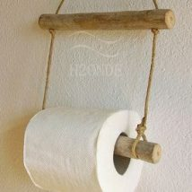 Diy Toilet Paper Holder 15 214x214 - 40+ Creative & Easy DIY Toilet Paper Holders