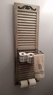 Diy Toilet Paper Holder 19 - 40+ Creative & Easy DIY Toilet Paper Holders