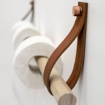 Diy Toilet Paper Holder 2 214x214 - 40+ Creative & Easy DIY Toilet Paper Holders