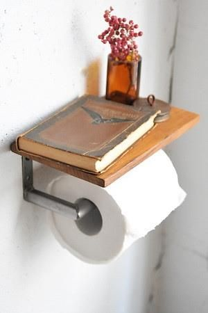 Diy Toilet Paper Holder 22 - 40+ Creative & Easy DIY Toilet Paper Holders