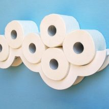 Diy Toilet Paper Holder 28 214x214 - 40+ Creative & Easy DIY Toilet Paper Holders