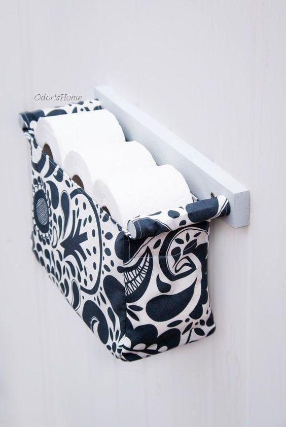 Diy Toilet Paper Holder 29 - 40+ Creative & Easy DIY Toilet Paper Holders