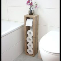 Diy Toilet Paper Holder 3 214x214 - 40+ Creative & Easy DIY Toilet Paper Holders